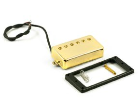 Kent Armstrong 6 Shooter PAF Style Gold Cover Pickup